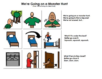 """Songboard - """"We're Going on a Monster Hunt"""""""