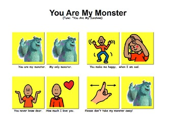 """Songboard - """"You Are My Monster"""""""
