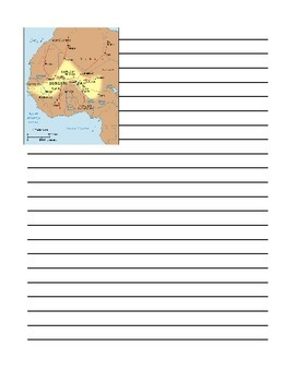Songhai Empire Notebooking Pages