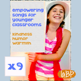 Positive Mood and Thinking Pop Songs - younger grade tunes