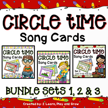 Circle Time Song Card Bundle