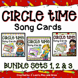 Circle Time Song Card Bundle