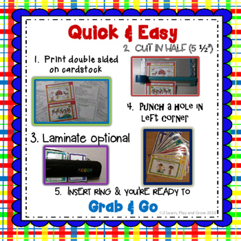 Songs, Fingerplays and Nursery Rhymes to Grab and Go - Set 2