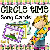 Circle Time Songs for Preschool, Pre-K or Kindergarten - Set 2