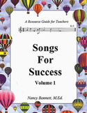 Songs For Success: Volume 1