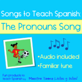 Songs To Teach Spanish:  The Pronouns Song