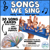 Songs We Sing - Cards and Puppets