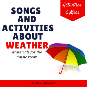 Songs and Activities about Weather