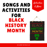 Black History Month Music {Songs and Activities}