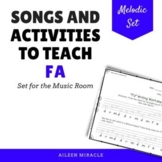 Songs and Activities to Teach Fa in the Music Room