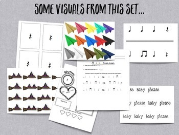 Songs and Activities to Teach Quarter Rest/ Ta Rest