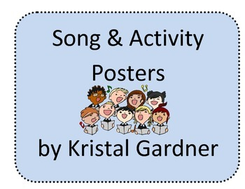 Songs and Activity Posters