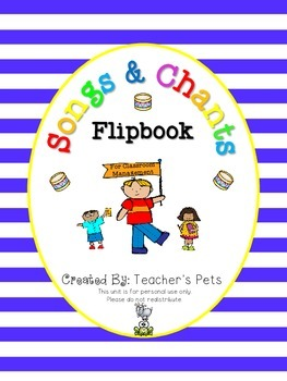 Songs and Chants Flipbook