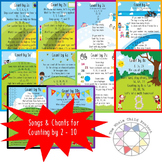 Songs and Chants for Counting by 2-10 FREE TEMP COLOR ONLY