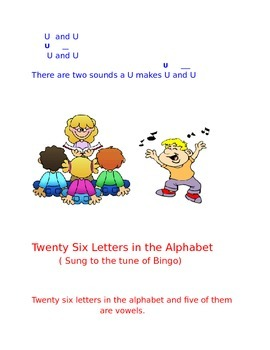 Songs and Chants to Learn Vowels/ Continents/Oceans