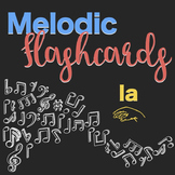 Songs and Flashcards for Teaching and Practicing la