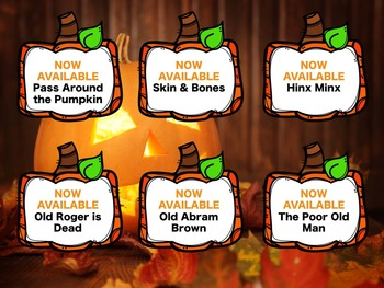 Songs and Games for Halloween {A HUGE Bundled Set for the Music Room)