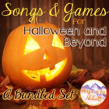Songs and Games for Halloween {A HUGE Bundled Set for the