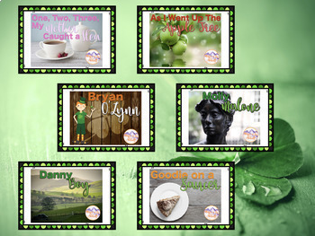 Songs and Games for St. Patrick's Day and Beyond {A Bundled Set}