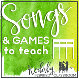 Songs and Games to Teach Sixteenth Notes {Bundle}