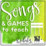 Songs and Games to Teach Tika-Tika {Bundle}