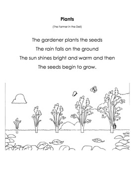 Songs and Poems for Poetry Folder
