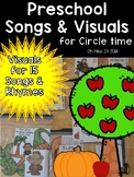 Songs and Rhymes for Preschool and Kindergarten – Visuals