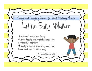 Songs for Black History Month: Little Sally Walker