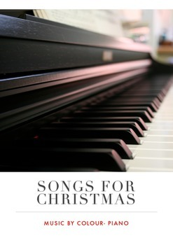 Songs for Christmas- Music By Colour, Piano