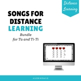 Songs for Distance Learning: Ta and Ti-Ti Bundle