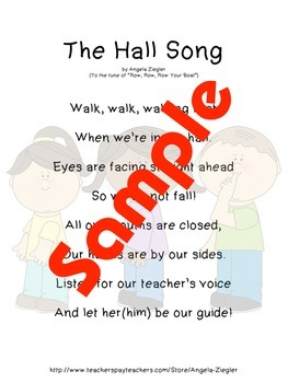 Songs for Math, Science, Social Studies and Walking In the Hall