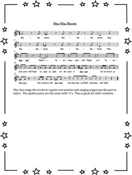 Songs for Solo Singing