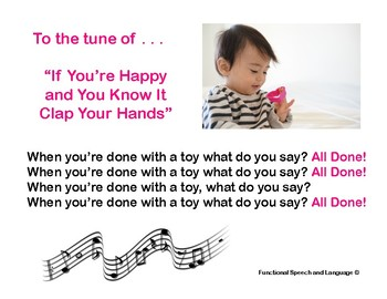 Songs for Speech Therapy
