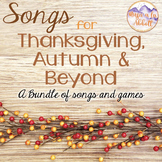 Songs for Thanksgiving, Autumn and Beyond {Songs, PDFs & Activities for Fall}