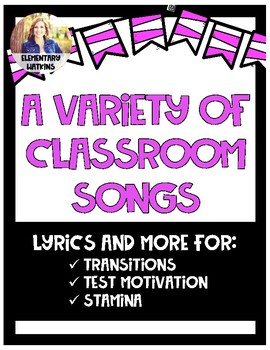 Songs for the Classroom