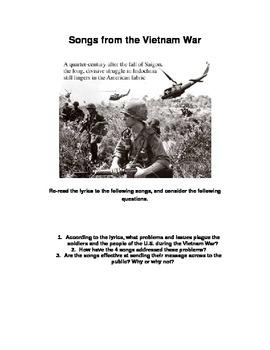 Songs from the Vietnam War