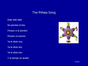 Songs in Spanish (some French)
