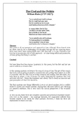 Songs of Ourselves Volume 2 : A Study Guide (on 14 Set Poe