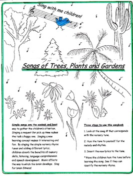 Songs of Trees, Plants and Gardens