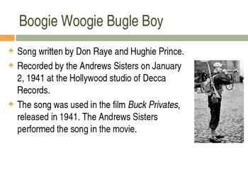 Songs of World War II Unit