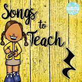 Songs to Teach Quarter Rest