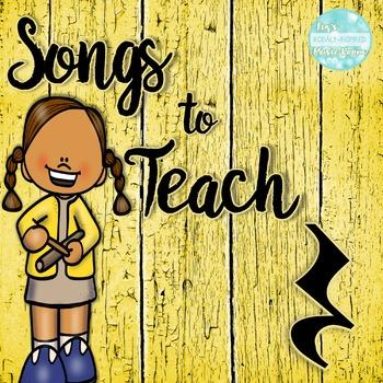 Songs to Teach Quarter Rest