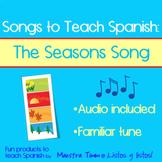 Songs to Teach Spanish:  The Seasons Song