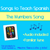 Songs to Teach Spanish:  The Number Song