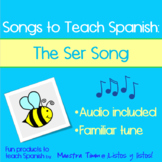 Songs to Teach Spanish:  The Ser Song