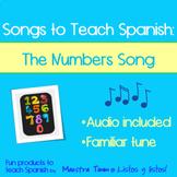 Songs to Teach Spanish:  Los Números 1-15 Song