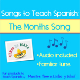 Songs to Teach Spanish:  The Months Song