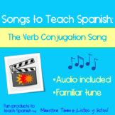 Songs to Teach Spanish:  The Verb Conjugation Song