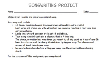 Songwriting Project