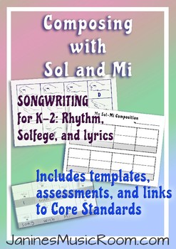 Songwriting with K-Grade 2: Composing with Sol and Mi